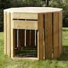 Crawl In Outdoor Wooden Dens  small