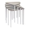 Segga Table Grey Frame  small