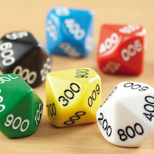 10 Sided Polyhedral Dice 50pk  medium