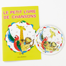 Le Petit Livre de Chansons French Song Book and CD  medium