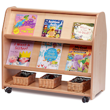 Millhouse Mobile Double Sided Book Display  medium