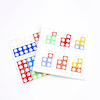 Numicon Number Bond Baseboard Overlays \- Set of 6  small