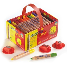 Giotto Bebe Colouring Pencils Assorted 36pk  medium