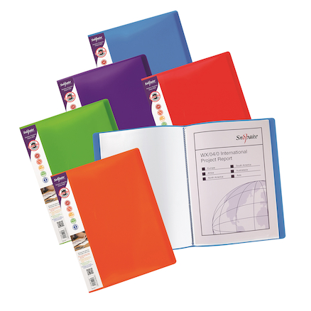 A4 Rainbow Display Book 5pk  large