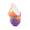 Assorted Coloured Mixing Bowls 6pk  small