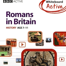 Romans In Britain BBC Interactive CD ROM  medium