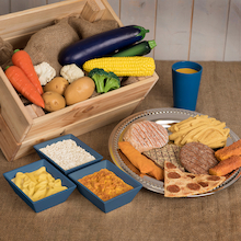 Role Play Dinner Food Set  medium