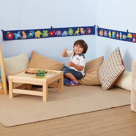 Alphabet Interactive Fabric Banner  large
