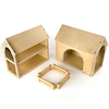 Wooden Farm Buildings Small World Play Set  small