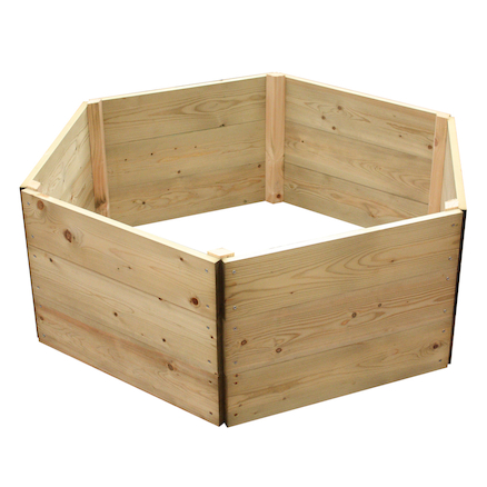 Hexagonal Raised Grow Bed  large
