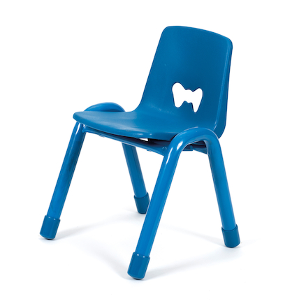 Valencia Classroom Chair 30pk Blue 380mm  large