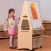 PlayScapesTwo Sided Easel and Trolley  small