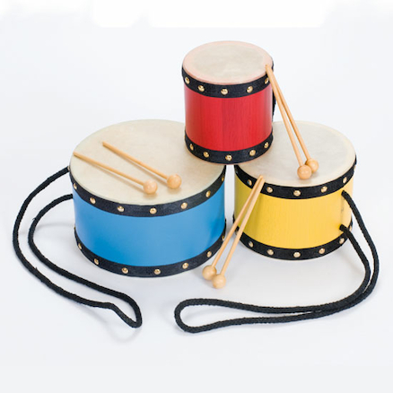 Indian Tom Tom Drums 3pk  large