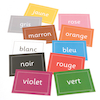 Colours French Vocabulary Flashcards A5 10pk  small