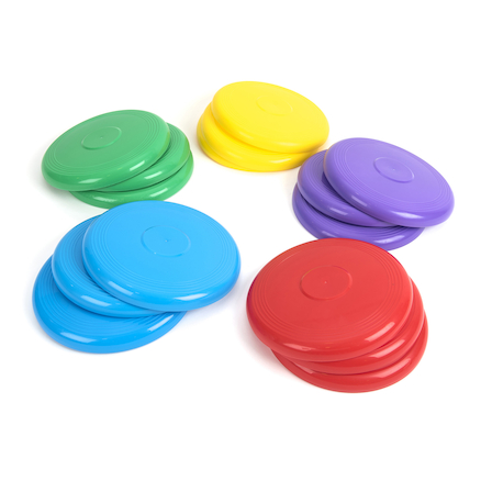 Rainbow Frisbees 15pk  large