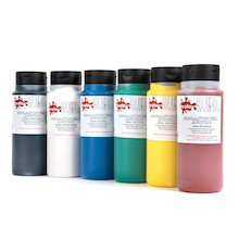 Acrylic Paint Assorted 500ml 6pk  medium