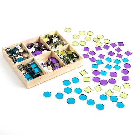 buy plastic mirror mosaic tiles 300pk tts