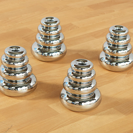 Marvellous Metallics Mirror Stacking Donuts 16pk  large