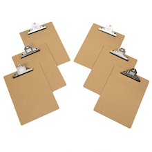Clipboards 6pk  medium