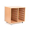 12 Shallow Tray Storage Unit Without Trays  small