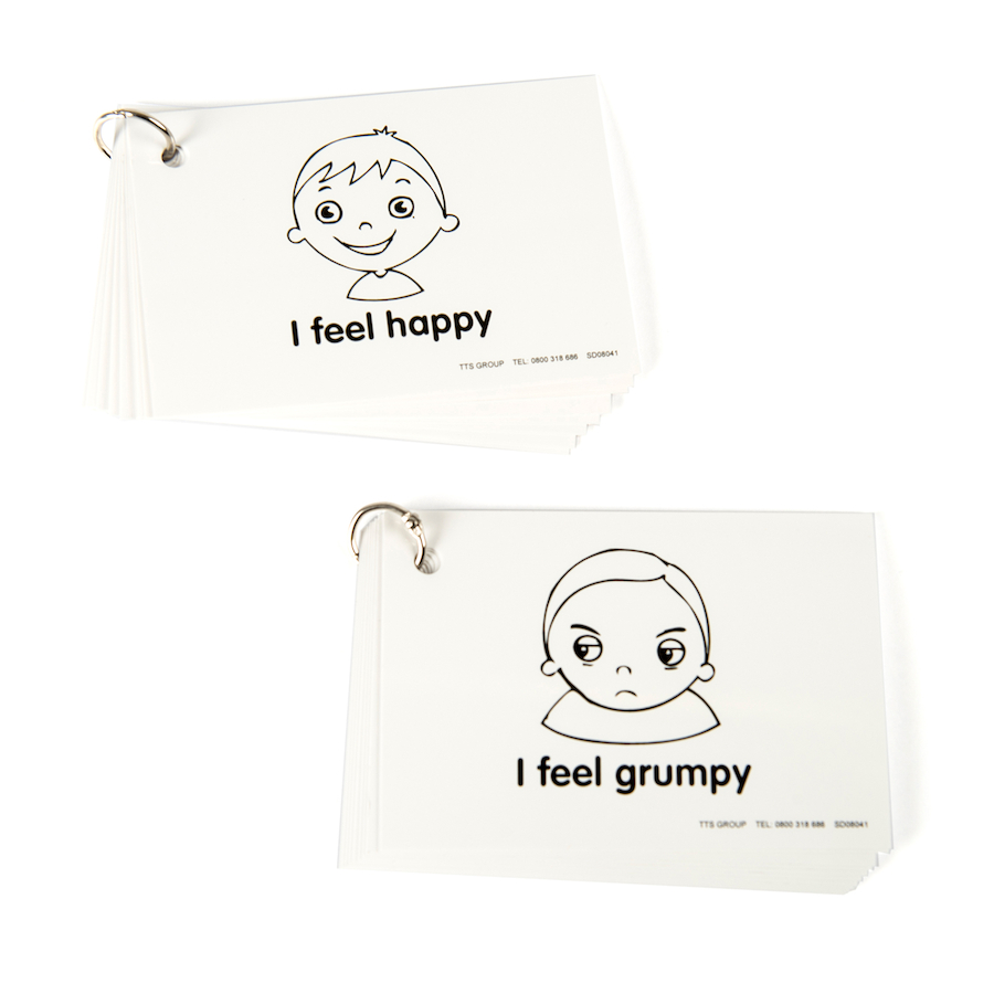 Buy Feelings And Emotions Communication Cards And Keyrings