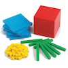 Multi Coloured Base Ten Class Set 184pc  small
