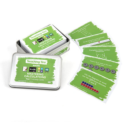 Mastering Calculation Activity Cards Year 1 100pk  large