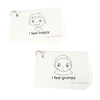 Feelings and Emotions Communication Cards and Keyrings  small