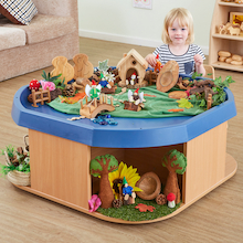 Toddler Height Wooden Active World Unit  medium