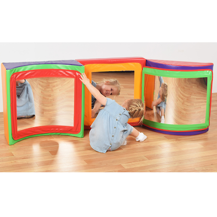 Mirrored Soft Play Set  large