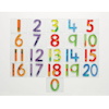 Squidgy Sparkle Number Tiles 0\-20  small