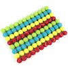 Bucket of Coloured Tennis Balls 96pk  small