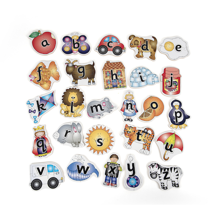 Letters of the Alphabet Jigsaws 78pcs  large