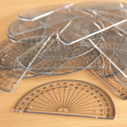 180 Degree Protractor Packs  large