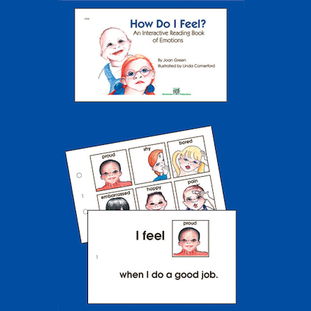 How Do I Feel Interactive Reading Book  large