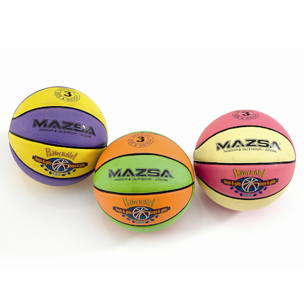 SureGrip Basketballs Size 3 3pk  large