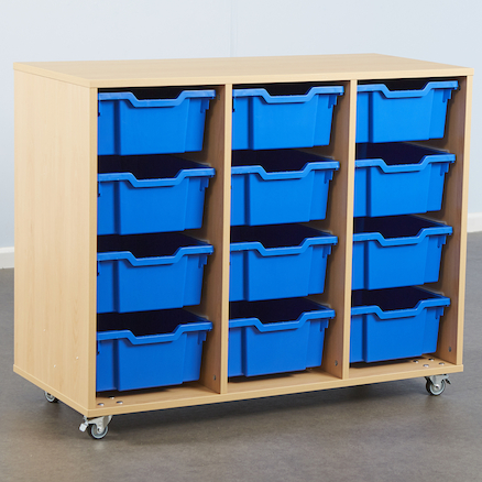 12 Deep Tray Storage Unit Without Trays  large