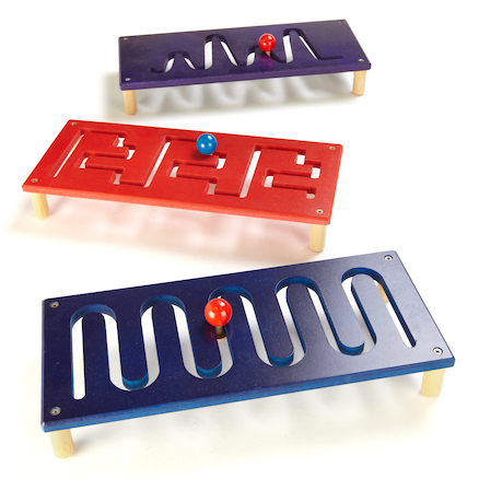 Tabletop Fine Motor Activity Pattern Boards 3pk  large