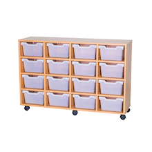 16 Cubby Tray Unit H800mm  medium