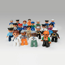 DUPLO LEGO Plastic Community People Set 21pcs  medium