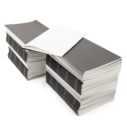 Black Stapled Sketchbooks 120gsm 100pk 32pgs A3  large