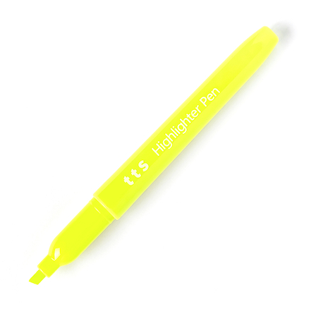 TTS Highlighter Pen Assorted 12pk  large