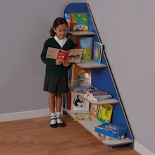 Sailing Bookcase W120 x D30 x H130cm  medium
