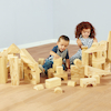 Soft Wood Effect Foam Construction Blocks  small