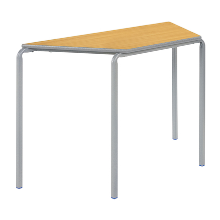 Crush Bent PU Edge Trapezoid Tables  large
