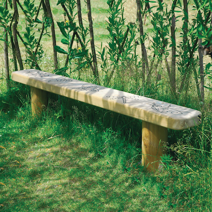 Fabulous Engraved Outdoor Wooden Bench Caraccident5 Cool Chair Designs And Ideas Caraccident5Info