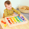 Baby Wooden Colour Sorting Collection  small