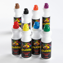 Chubbie Paint Markers Assorted 8pk  medium