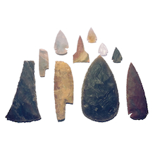 Stone Age Flint Artefacts 10pk  medium