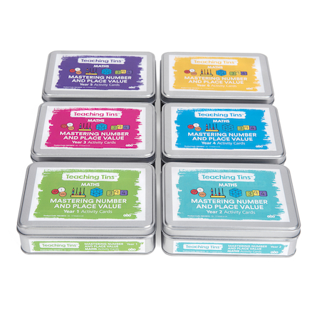 Teaching Tins Mastering Place Value Activity Cards  large
